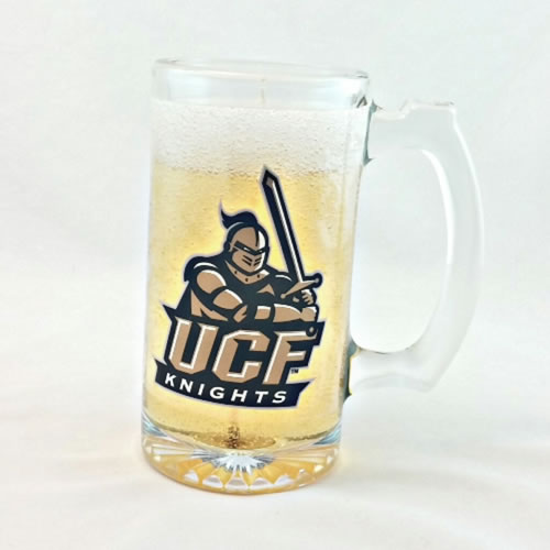 UCF Knights Beer Gel Candle