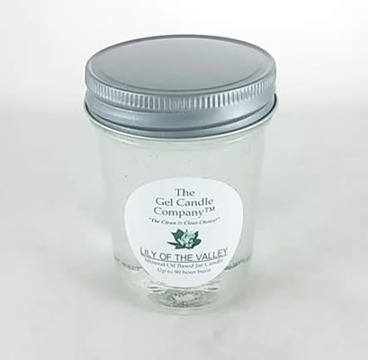 Lily Of The Valley 90 Hour Gel Candle Classic Jar