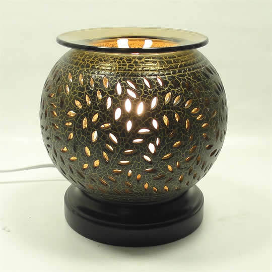 moroccan style aroma diffuser lamp warmer with dimmer