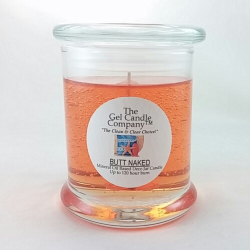 Butt Naked Inspired Scented Gel Candle - 120 Hour Deco Jar