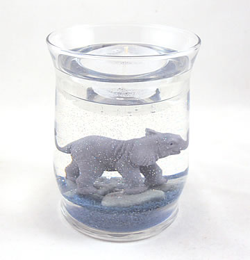 Elephant Gel Candle Refillable Forever Candle Designs by Deb