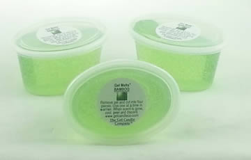 Bamboo scented Gel Melts™ Gel Wax for warmers - 3 pack