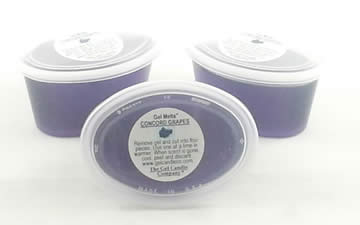Concord Grapes scented Gel Melts™ for warmers - 3 pack