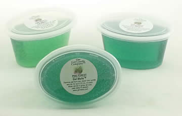 Pine Forest scented Gel Melts™ for warmers - 3 pack