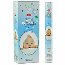 Baby Powder Incense - 20 sticks