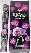 Black Opium Incense - 20 sticks