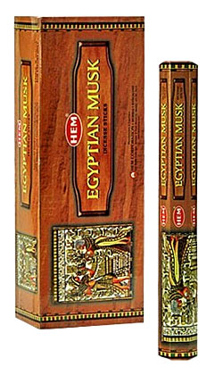 Egyptian Musk Incense - 20 sticks