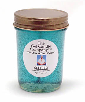 Cool Spa 90 Hour Gel Candle Classic Jar