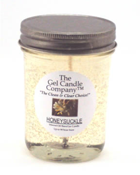 Honeysuckle 90 Hour Gel Candle Classic Jar