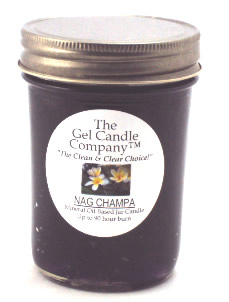 Nag Champa 90 Hour Gel Candle Classic Jar