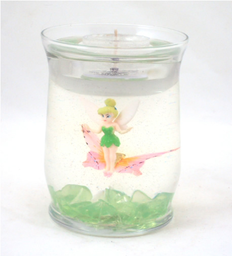 Tinkerbell with Butterfly Refillable Forever Gel Candle
